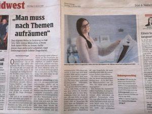 Ordnungscoaching Bericht Kleine Zeitung